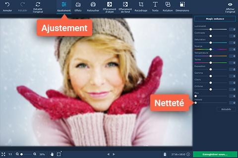 Un logiciel pour corriger les photos floues