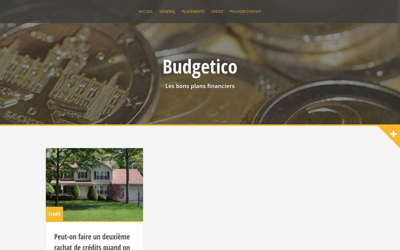 Budgetico - Les bons plans financiers
